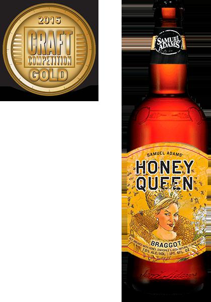 Sam Adams Honey Queen Braggot