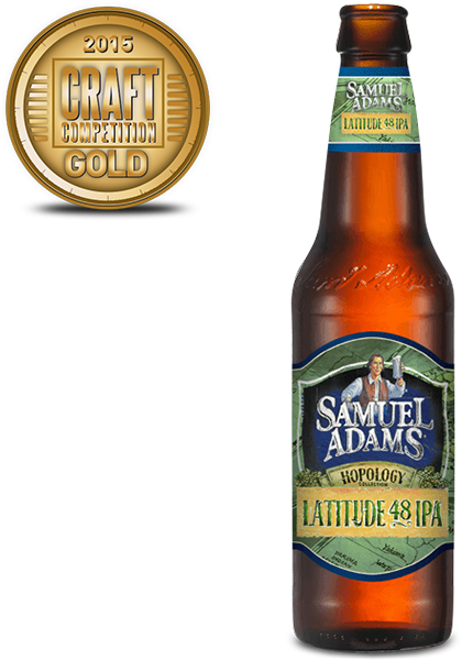 Sam Adams Hopology Latitude 48 IPA