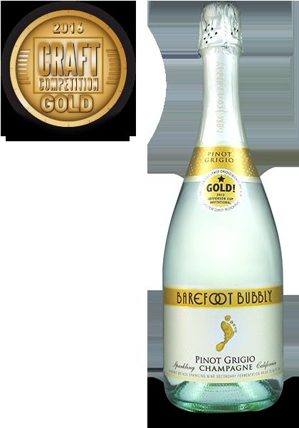 Barefoot Bubbly Pinot Grigio
