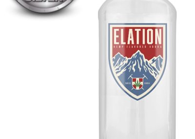Elation Hemp Flavored Vodka