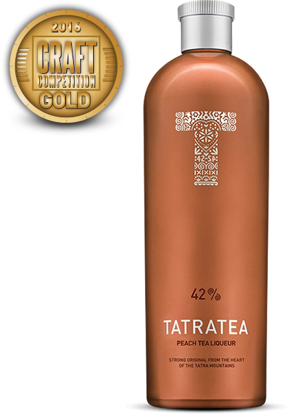 TATRATEA Peach & White Tea Liqueur