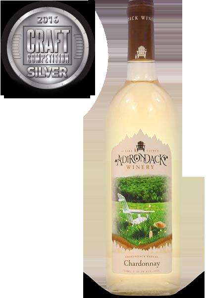 Adirondack Winery 2014 Unoaked Chardonnay, Dry Wine