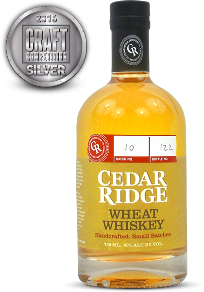 Cedar Ridge Wheat Whiskey