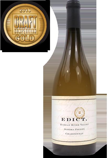 Edict., 2014 Russian River Chardonnay