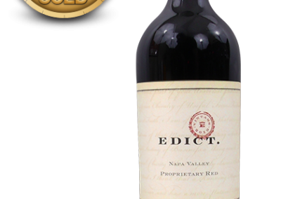 Edict., 2010 Napa Valley Proprietary Red