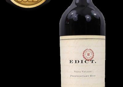 Edict., 2010 Napa Valley Proprietary Red