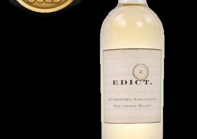 Edict., 2013 Rutherford Sauvignon Blanc