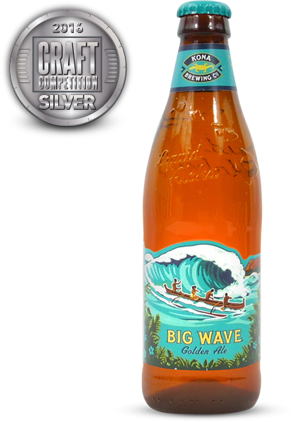 Big Wave Golden Ale, Blonde/Golden Ale