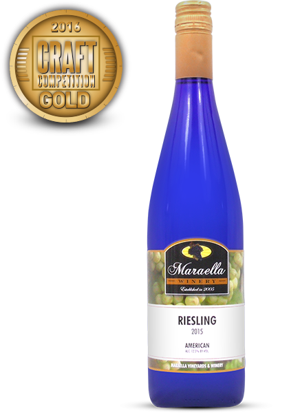 Maraella Winery and Vineyard 2015 Riesling