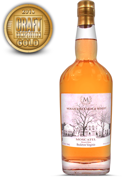 Morais Vineyards & Winery Moscatel