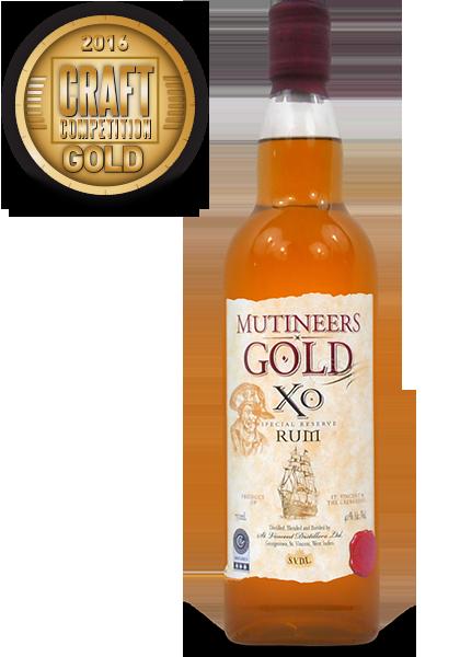 Mutineers Gold XO Rum