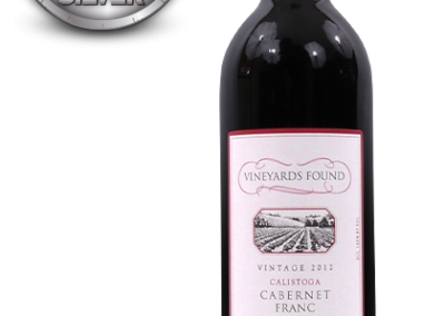 Vineyards Found, 2012 Calistoga, Napa Valley Cabernet Franc