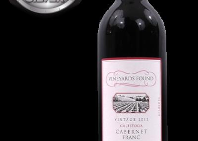 Vineyards Found, 2012 Calistoga, Napa Valley Cabernet Franc