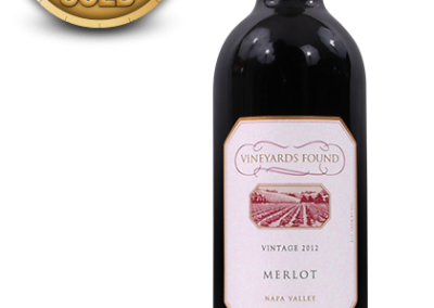 Vineyards Found, 2012 Napa Valley Merlot