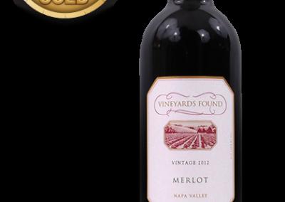 Vineyards Found, 2012 Napa Valley Merlot