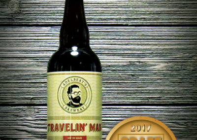 Adelbert's Brewery Travelin' Man Belgian IPA