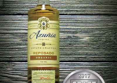 Azuñia Organic Reposado Tequila