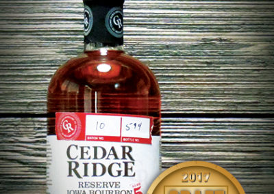 Cedar Ridge Reserve Iowa Bourbon Whiskey Aged 5 Years