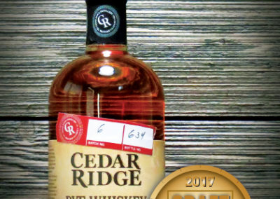 Cedar Ridge Rye Whiskey