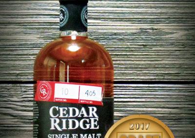 Cedar Ridge Single Malt Whisky