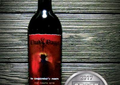 Cloak & Dagger The Conspirator's Reserve Syrah 2012