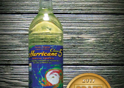 Florida Orange Groves Hurricane Class 5 White Sangria