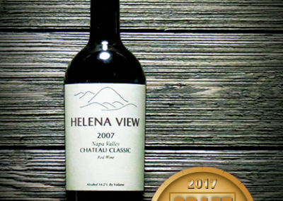 Helena View Chateau Classic Napa Valley Red Wine 2007