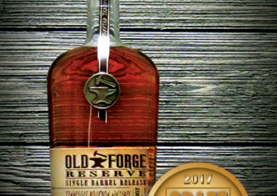Old Forge Reserve Single Barrel Release Tennessee Bourbon Whiskey Aged 9 Years