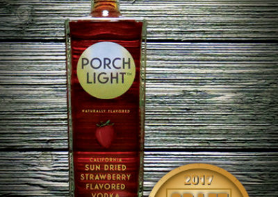 Porch Light California Sun Dried Strawberry Vodka
