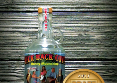 Kick Back Cove Honey Clear Moonshine