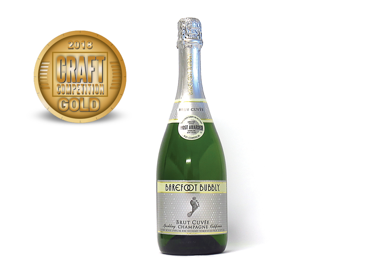 Barefoot Bubbly Brut Cuvee Champagne