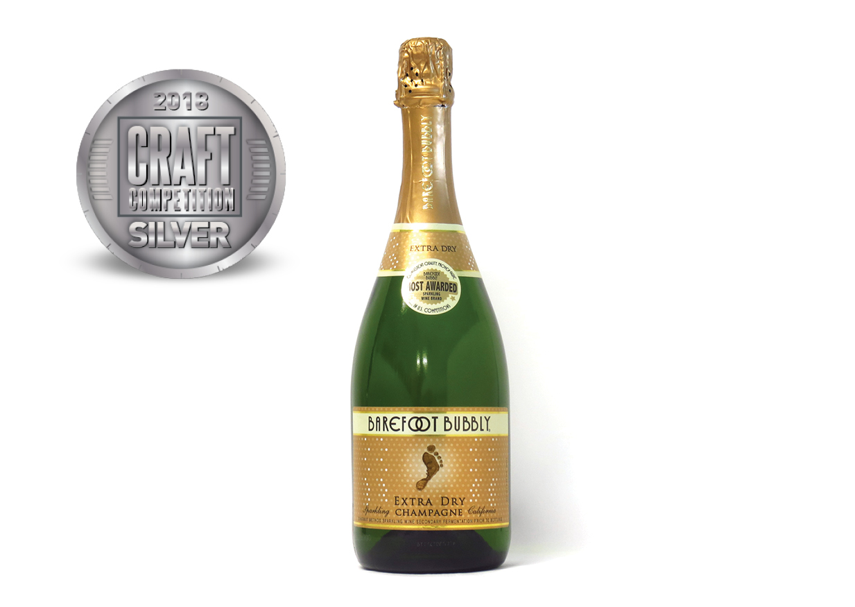 Barefoot Bubbly Extra Dry Champagne