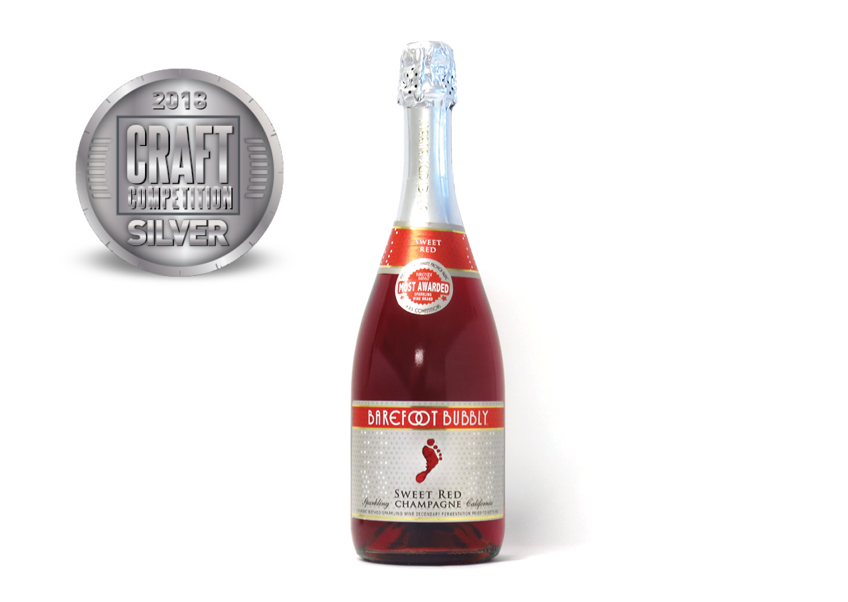 Barefoot Bubbly Sweet Red Champagne