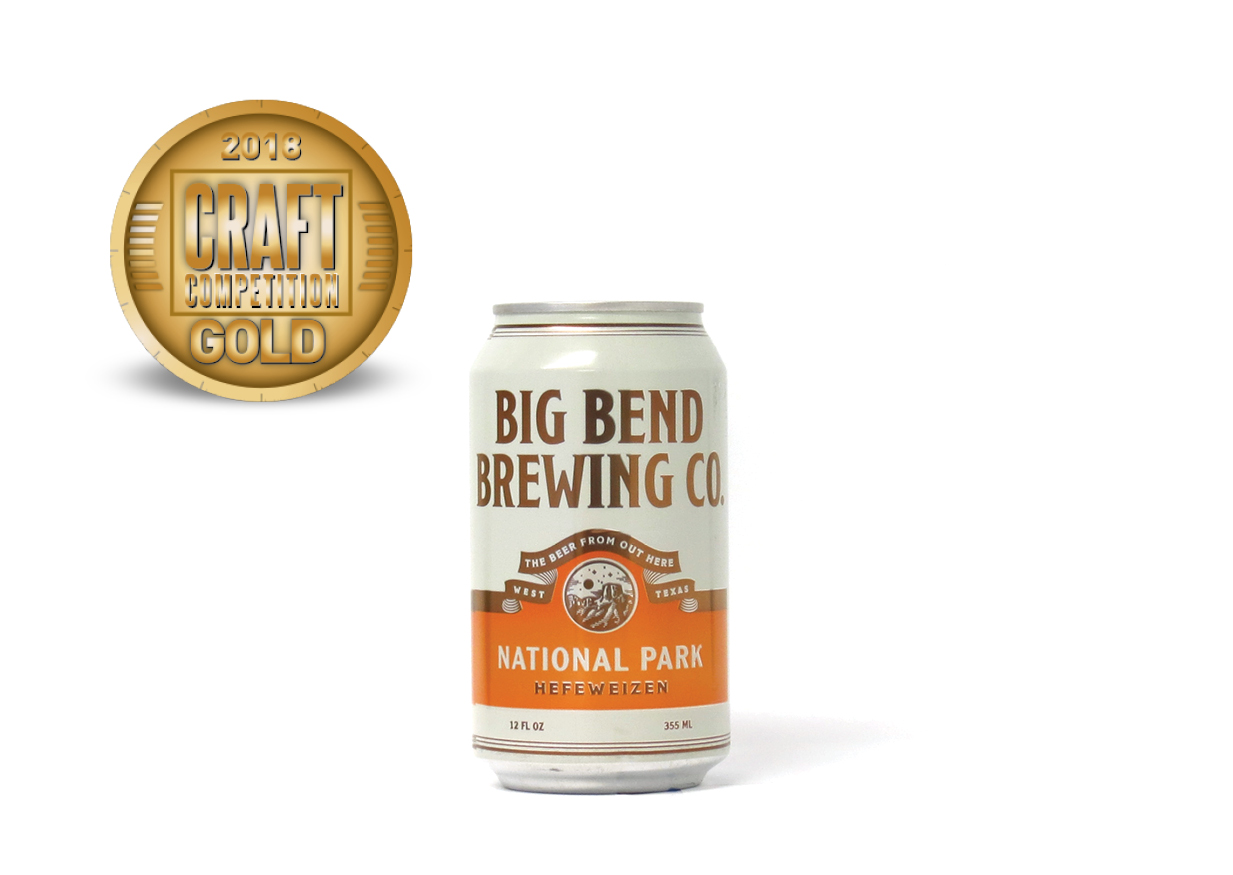 Big Bend Brewing Co National Park Hefeweizen