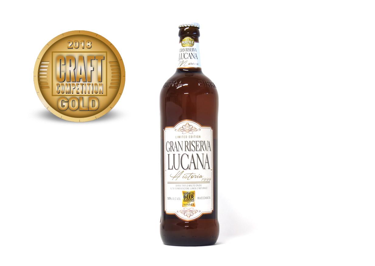 Birra Morena Gran Riserva Lucana