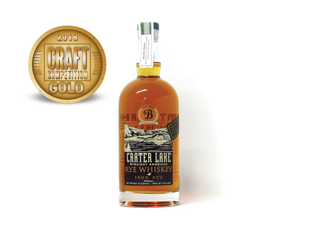Crater Lake Straight American Rye Whiskey