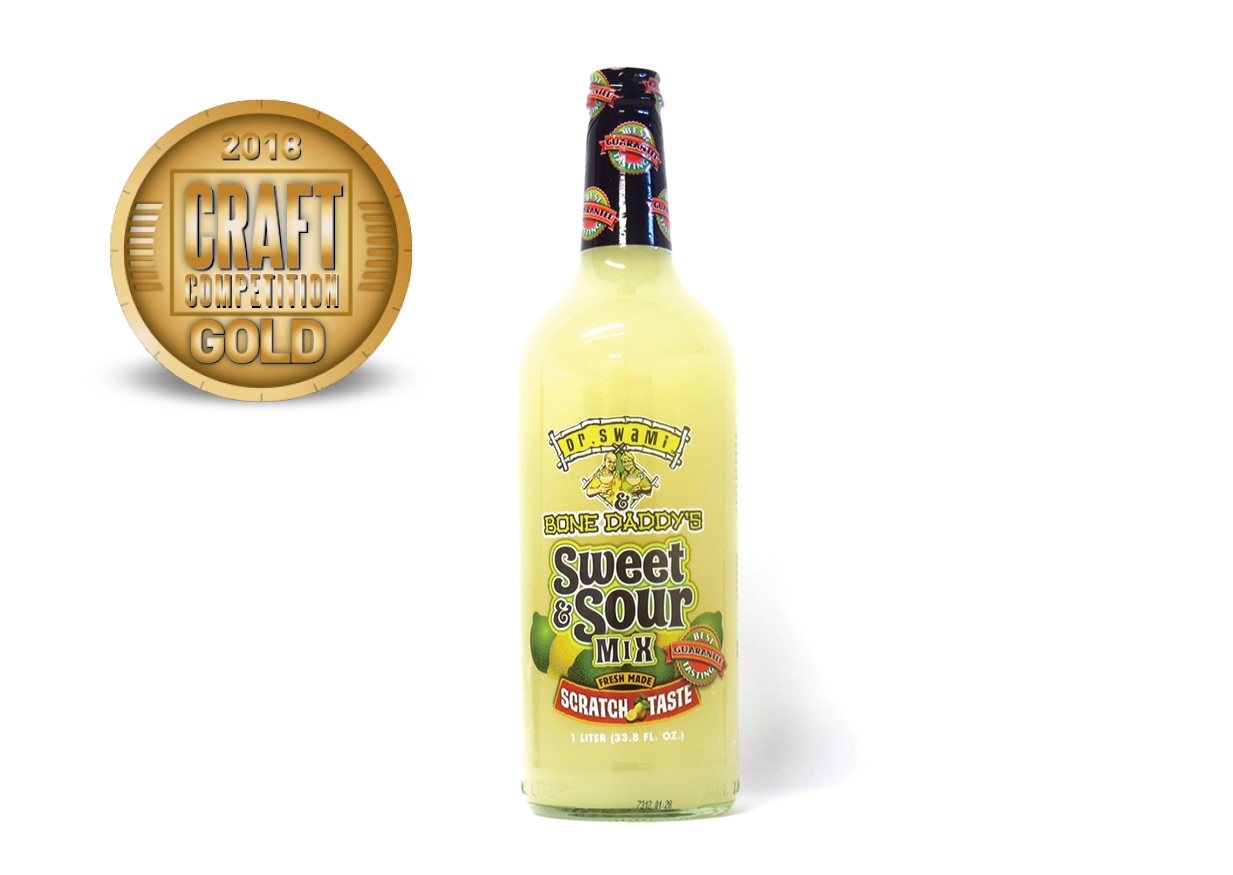 Dr. Swami Bone Daddy's Sweet and Sour Mix