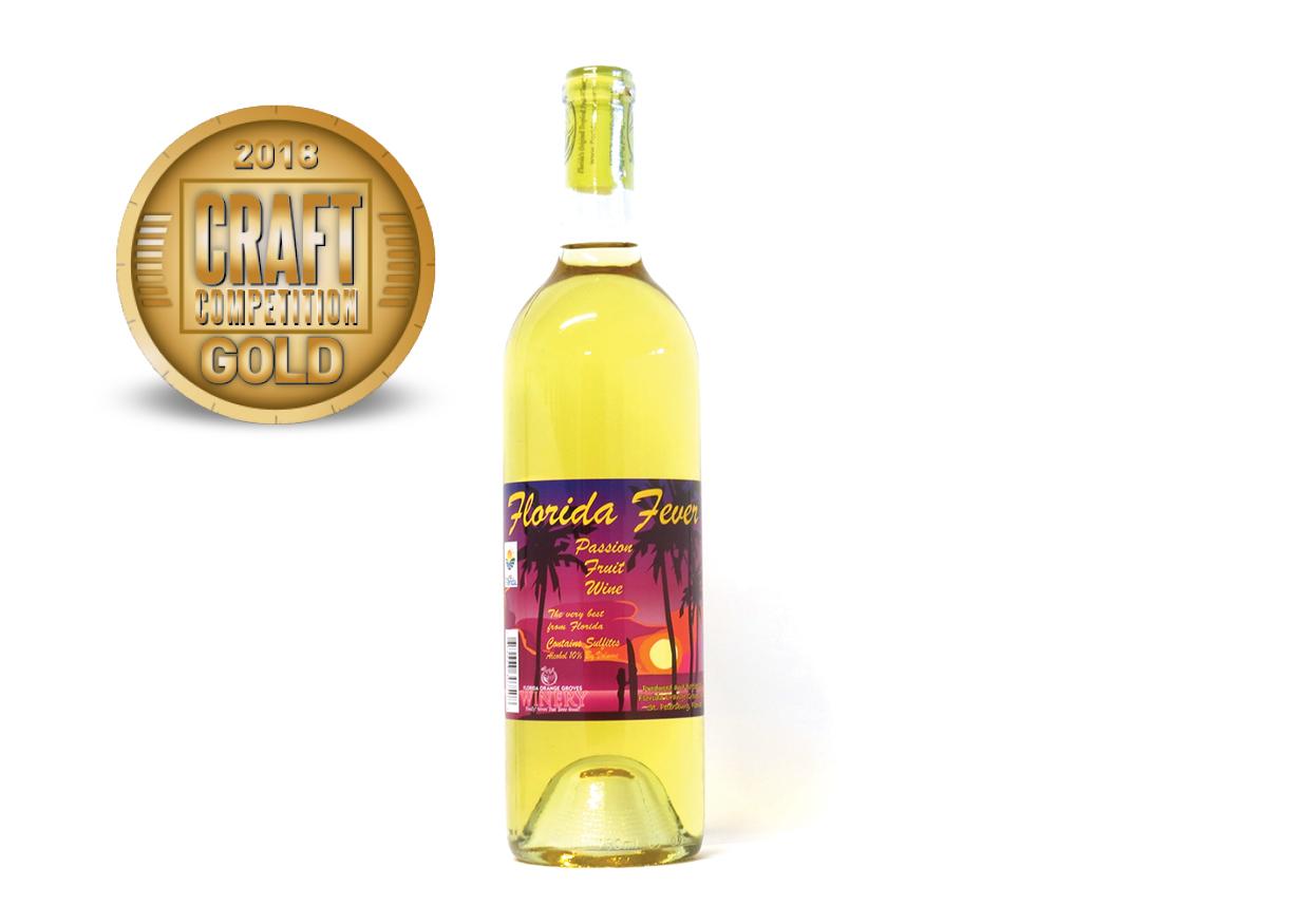 Florida Orange Groves Winery Florida Fever Passion Fruit Wine