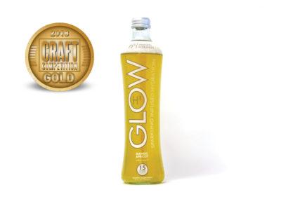 GLOW Sparkling Infused Hydration Hx Mango Apricot