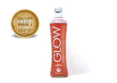 GLOW Sparkling Infused Hydration Hx Spicy Watermelon