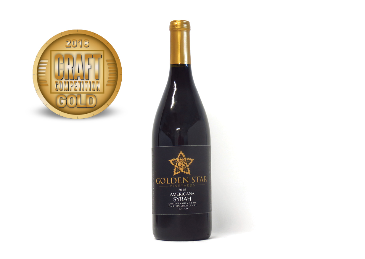 Golden Star Vineyards Americana Syrah 2015