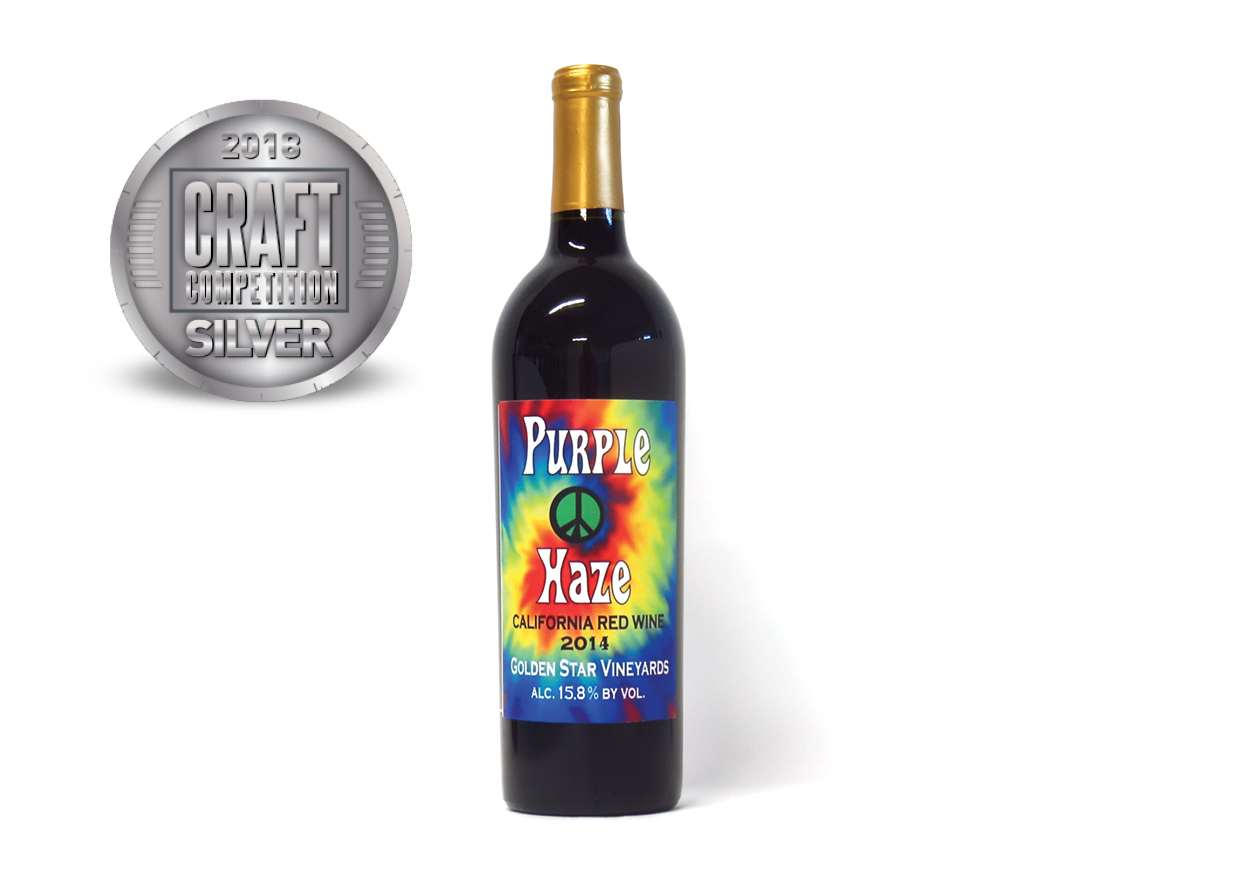 Golden Star Vineyards Purple Haze California Red Wine 2014