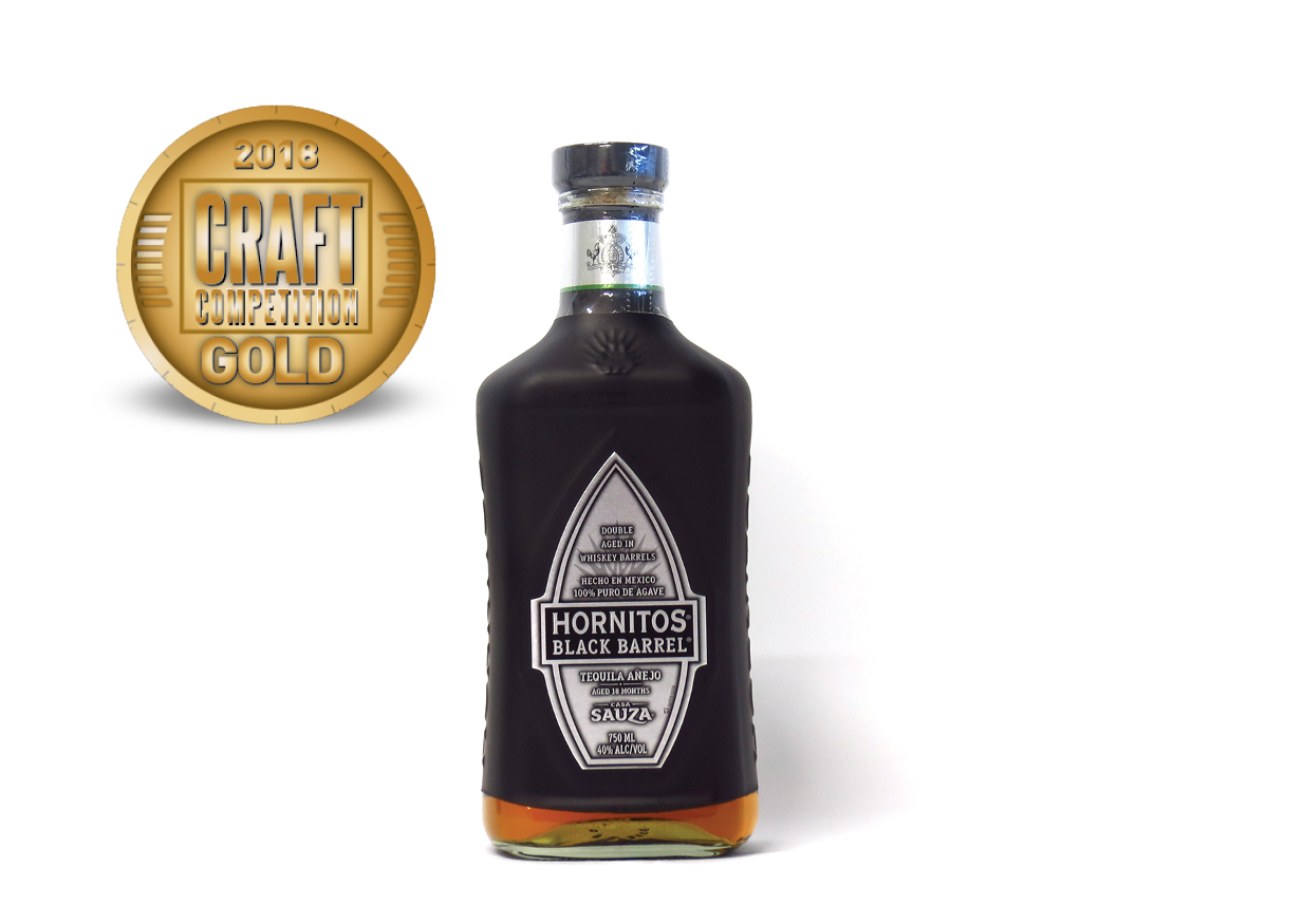 Hornitos Black Barrel Tequila Añejo Aged 18 Months