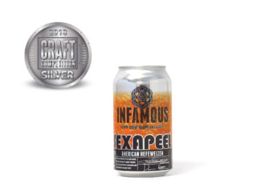 Infamous Brewing Company Sex A Peel American Hefeweizen