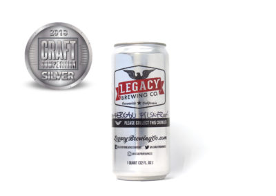 Legacy Brewing Co. American Pilsner