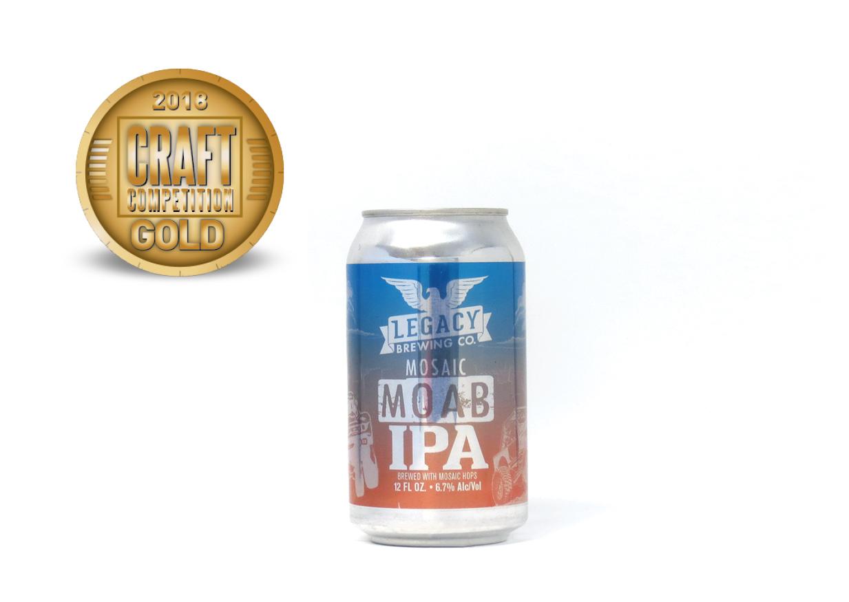 Legacy Brewing Co. Mosaic MOAB IPA