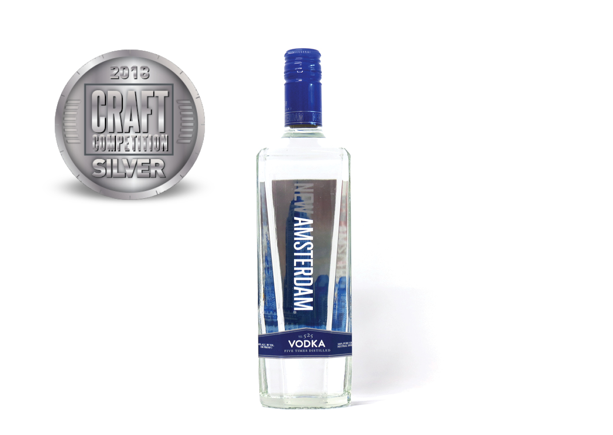 New Amsterdam No. 525 Vodka Five Times Distilled