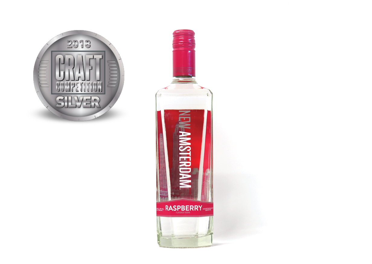 New Amsterdam Raspberry Flavored Vodka