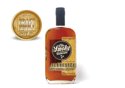 Ole Smoky Gatlinburg Tennessee Mountain Made Salty Caramel Whiskey