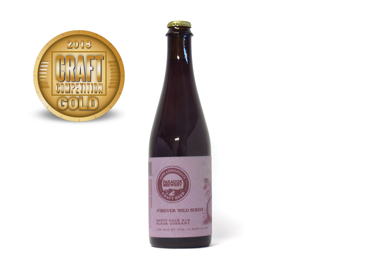 Paradox Brewery Forever Wild Series Brett Pale Ale Black Currant